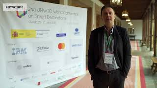 Massimo Marchiori - Interview from the 2nd World Conference on Smart Destinations 2018