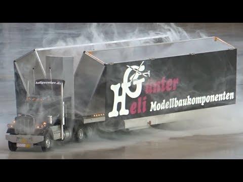 RC TRUCK ♦ SMOKE MIT ÜBERRASCHUNG ♦ MODELLBAUMESSE MODELL UND TECHNIK STUTTGART 2017