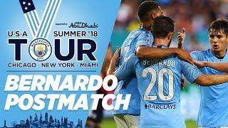 Bernardo Silva Reaction | Bayern 2 - 3 City | City in the US | Miami