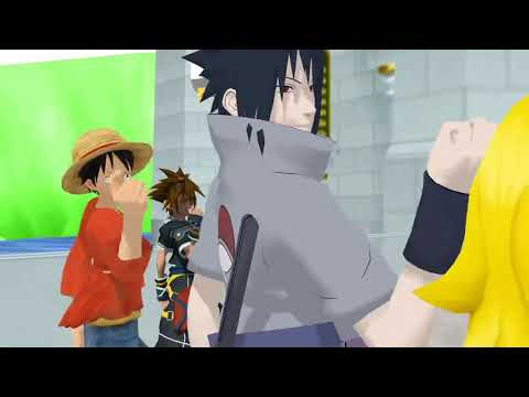 Sasuke, Goku, Luffy, Peach & Sora - Swalla (official Music Video)