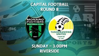 2018 Capital Football NPL Round 8 - Monaro Panthers v Tuggeranong United