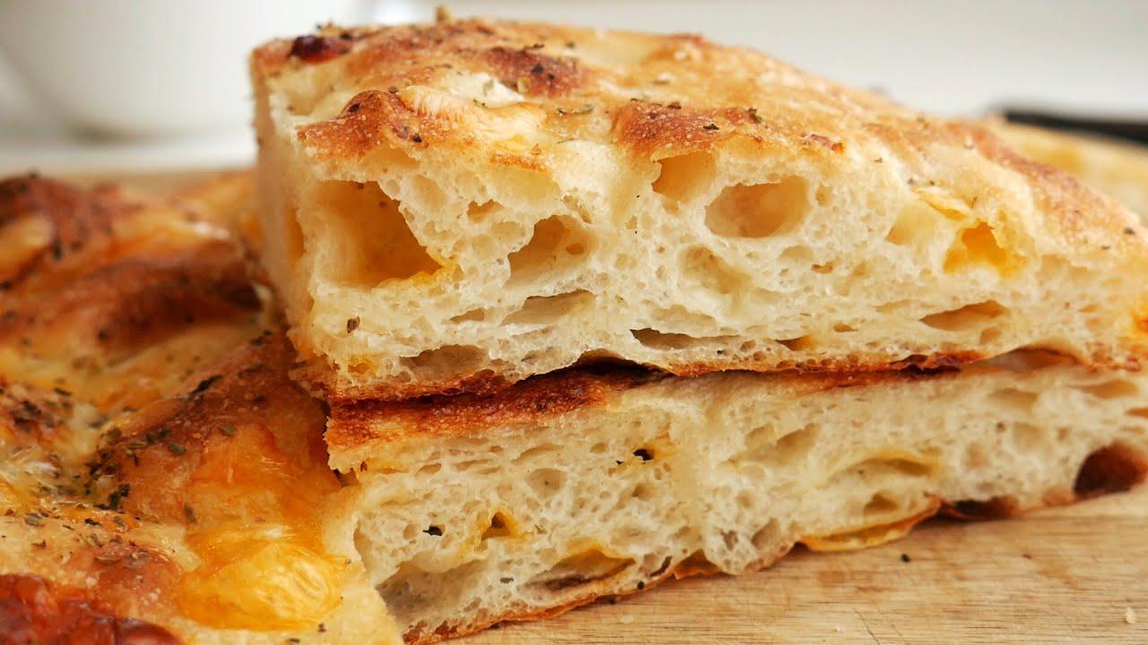 No knead Sponge Potato Bread (Potato Focaccia) | Kkuume