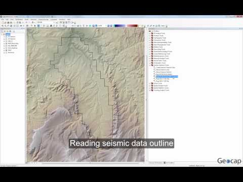 Seismic Explorer for ArcGIS – Reading a 3D seismic data outline