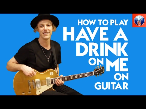how to play have a drink on me on guitar ac dc back in black lesson youtube. Black Bedroom Furniture Sets. Home Design Ideas
