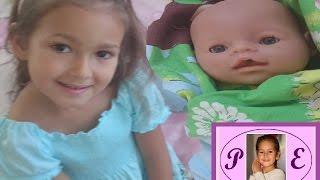 Aliş uyandı ve gezmeye gidiyor.Eğlenceli çocuk videosu , Baby born video for kids.