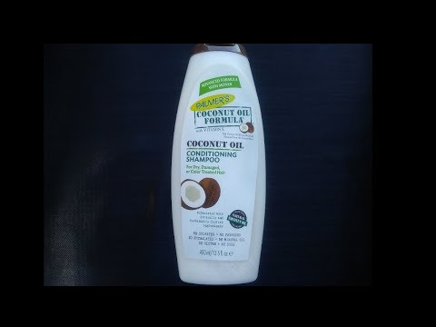 Coconut Oil Formula Conditioning Shampoo For Dry Hair (Review) ☺