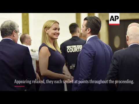 Donald Trump Jr. and Estranged Wife in Court