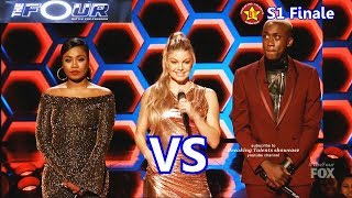 Download lagu Candice Boyd vs Vincint Candice sings I Have Nothing Vincint Locked Out of Heaven The Four Finale