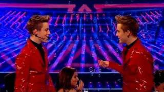 The X Factor 2009 - John and Edward - Live Show 2 (itv.com/xfactor)
