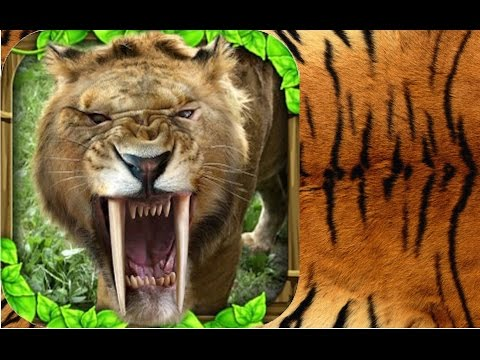 Sabertooth Tiger Simulator By Gluten Free Games -Compatible with iPhone, iPad, and iPod touch.