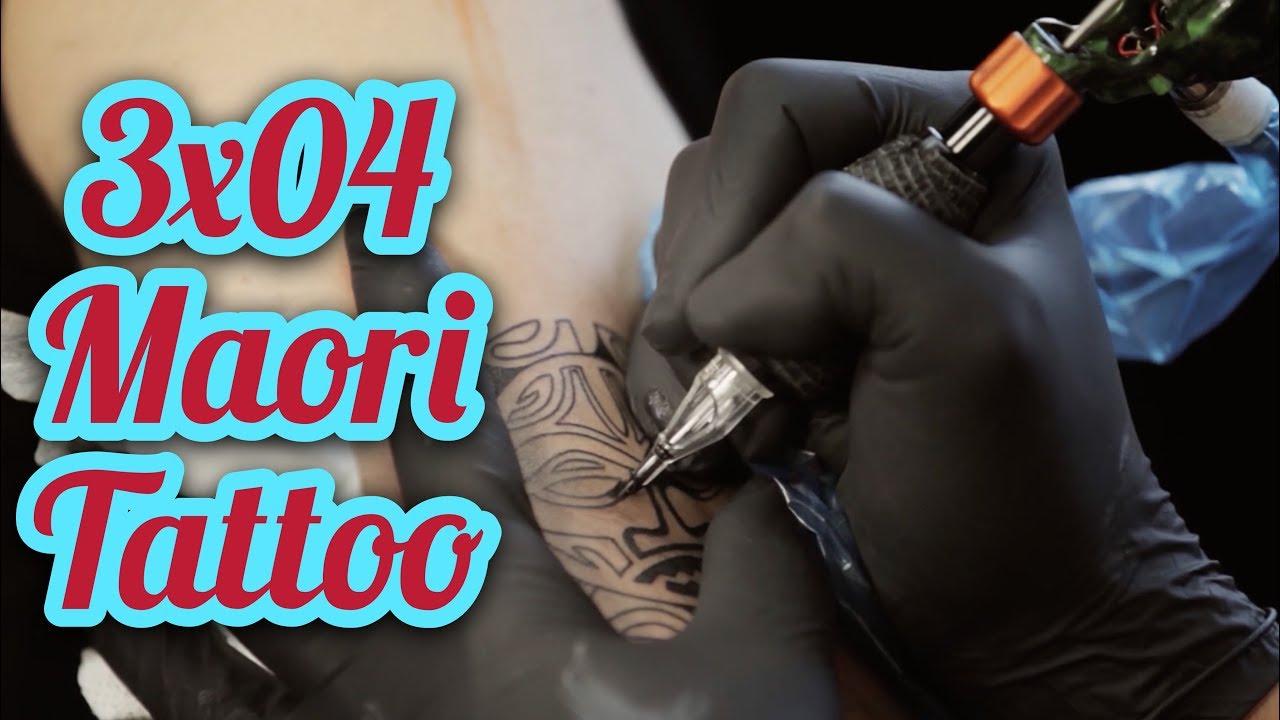 3x04 Aprende A Tatuar Maori Learn Maori Tattoo Youtube