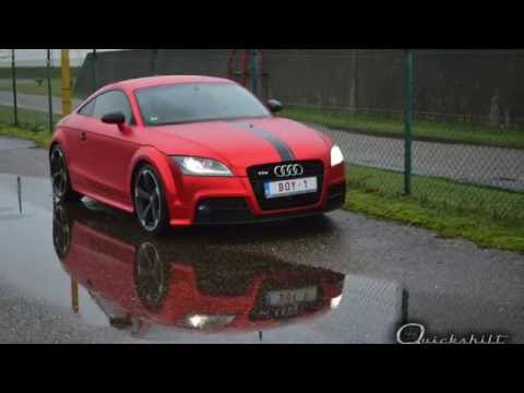 Vinyl Wrapping Audi Tt Arlon True Blood By Humberside