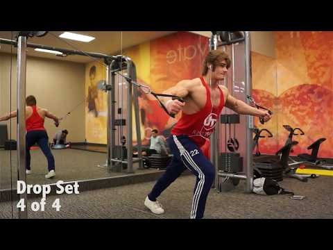 Jeff Seid Chest Workout ||