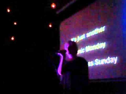 Karaoke Thursday, Collingwood Hotel, Liverpool. 7.30pm-11.30pm. Lisa sings: Manic Monday