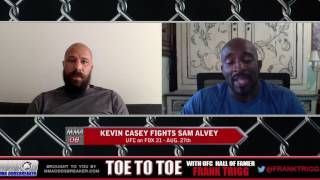 UFC on Fox 21's Kevin Casey: 'I'll expose Sam Alvey in this fight'