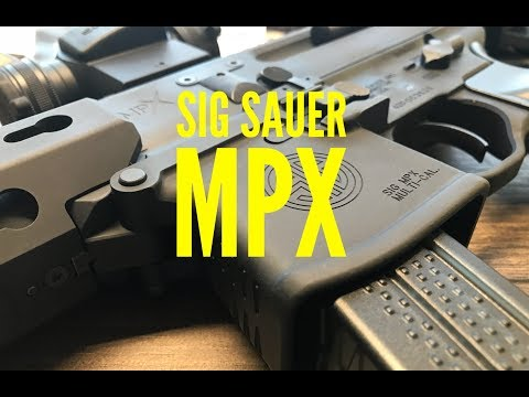 Quick Look: Sig Sauer MPX 9mm