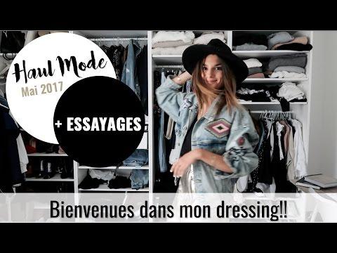 Haul Mode mai 2017 - Bienvenues dans mon dressing!