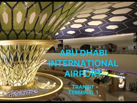 Abu Dhabi International Airport | Terminal 1 | Arrivals & Departures | POV