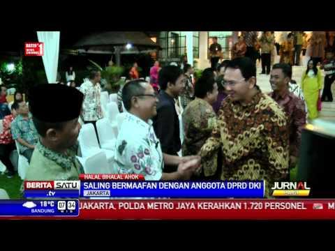 Ahok Halalbihalal dengan DPRD DKI Jakarta