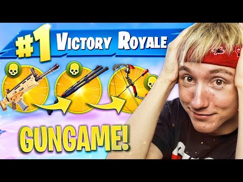 VICTORY ROYALE HALEN in GUN GAME FORTNITE!