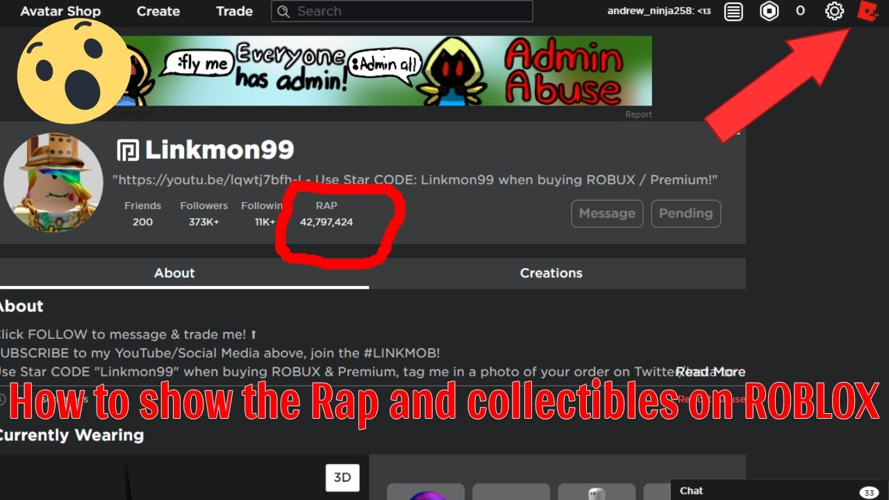How To Show Rap On Roblox 2020 Youtube