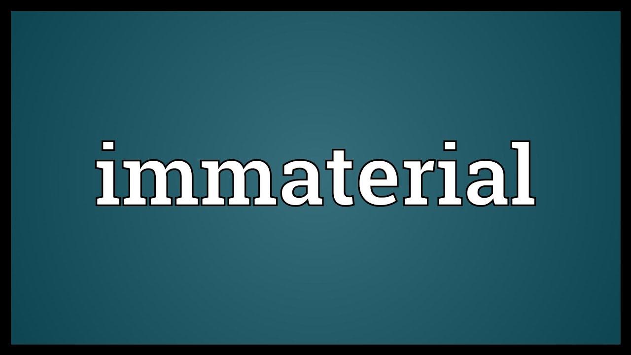 Immateriaali