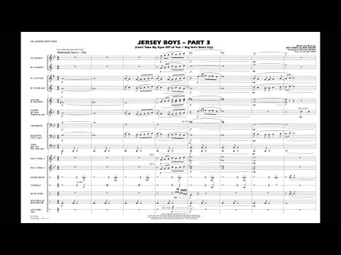 Jersey Boys - Part 3 arranged by Michael Brown