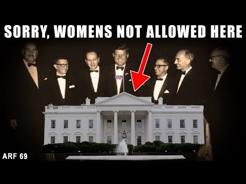 Before 1962 Women Were Not Allowed in White House || ARF 69