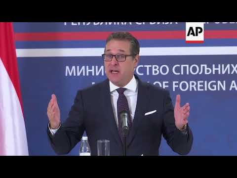 Austrian vice-chancellor says status of Kosovo still unresolved