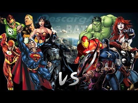 Descarga Los Vengadores vs La Liga de la Justicia. Épica Batalla Final de Rap del Frikismo