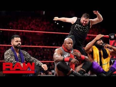 Kevin Owens returns to lay out Bobby Lashley: Raw, Sept. 3, 2018