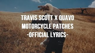 Travis Scott Quavo Motorcycle Patches Official