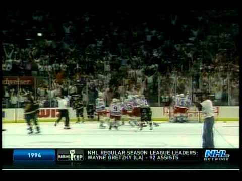 Rangers Win Stanley Cup 6/14/1994