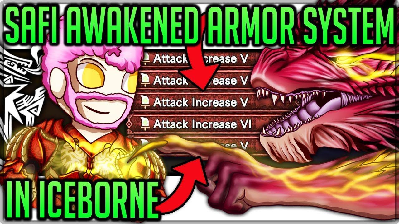 Safi'jiiva Awakened Armor System in Iceborne - Monster Hunter World Iceborne! (Discussion/Theory) thumbnail