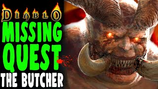DIABLO CUT CONTENT: The Butchers Secret Lair Finally Explored