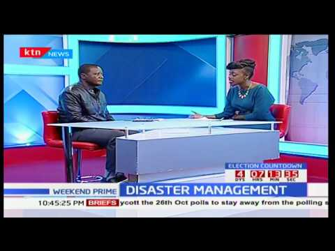 Disaster management: Deputy Director National Disaster Management Unit, Pius Masai in studio