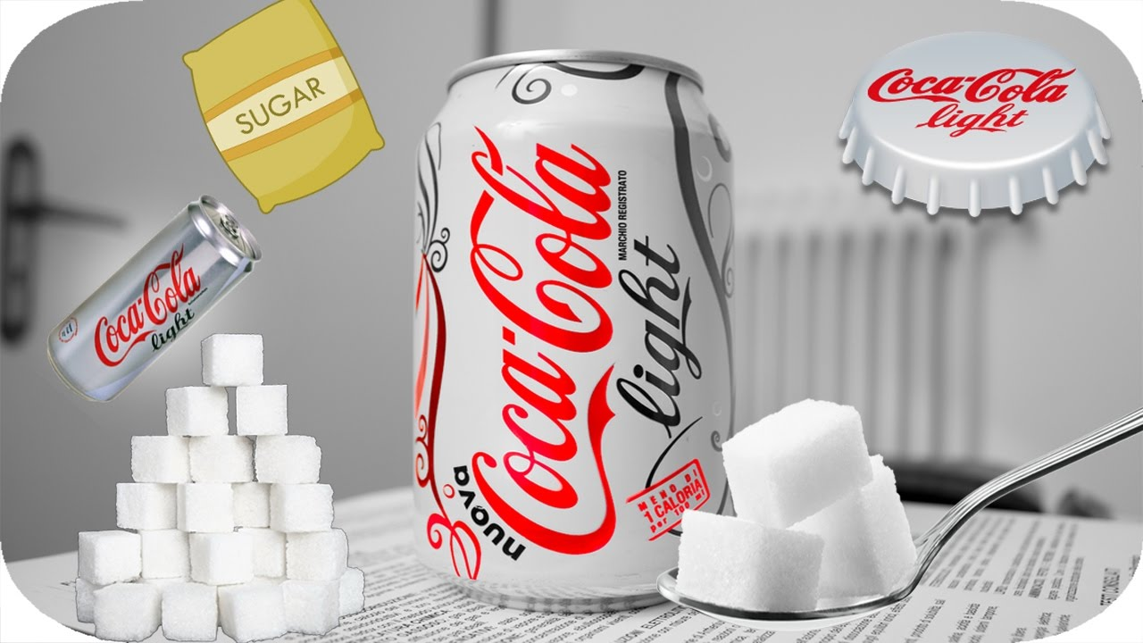 how much sugar is in diet cola