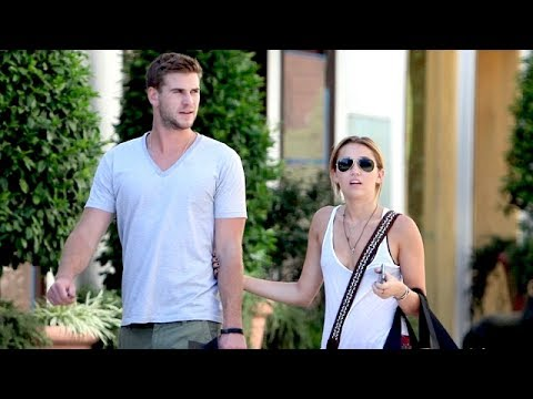Miley Cyrus & Liam Hemsworth Shopping During Santa Barbara Getaway [2011]