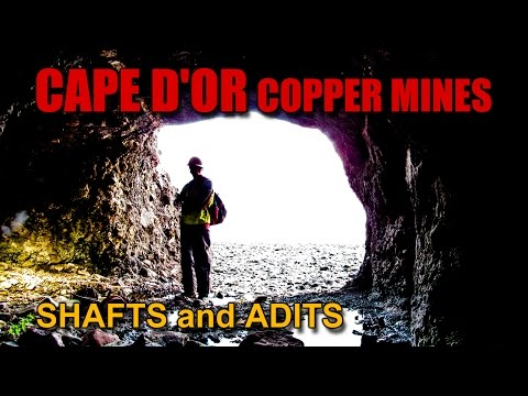 Ep.15  The Abandoned CAPE D'OR Copper Mines