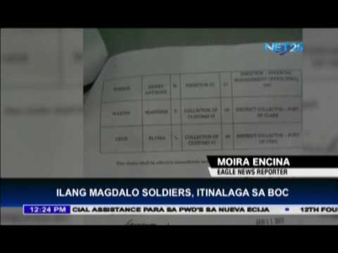 Former Magdalo soldiers, appointed to BOC