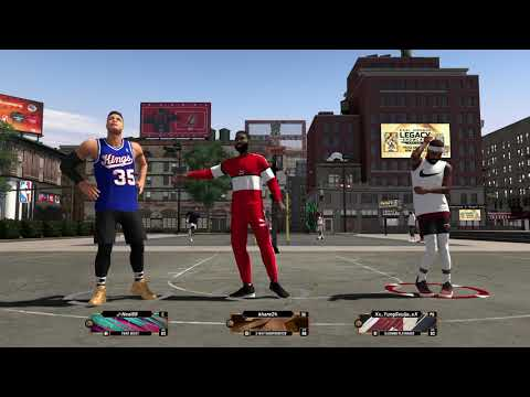 NBA 2K20 Park With 93 Overall Slashing Playmaker
