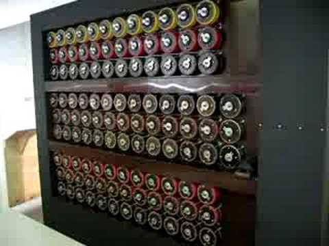 Bombe Demonstration at Bletchley Park