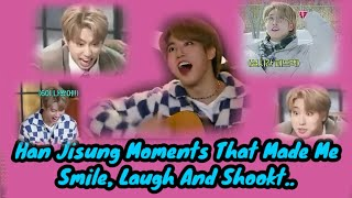 HanJisung Moments That Made Me Smile, Laugh And Shookt