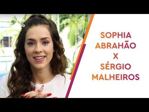 Será que o casal Sérgio Malheiros e Sophia Abrahão se conhece de verdade?