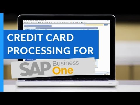Sap business one credit card processing solution youtube sap business one credit card processing solution colourmoves