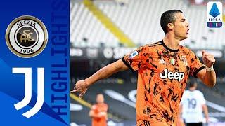 Spezia 1-4 Juventus | Poker Juventus, Pirlo torna alla vittoria | Serie A TIM