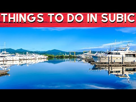 WHAT TO DO AT SUBIC BAY