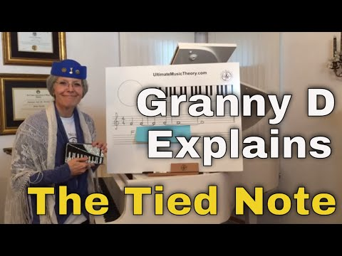 Ultimate Music Theory Lesson with Granny D - Tied Notes