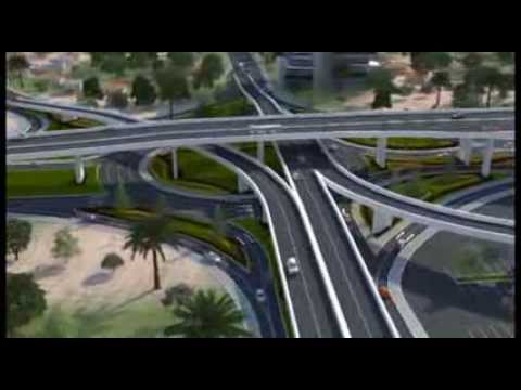 New 3-tier Kwame Nkrumah Circle Interchange.