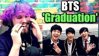 BTS (방탄소년단) 'Graduation Song' MV | THEY'RE SO CUTE! | REACTION!!